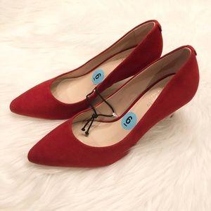 NWOT Kate Spade Red Pointed Toe Heels